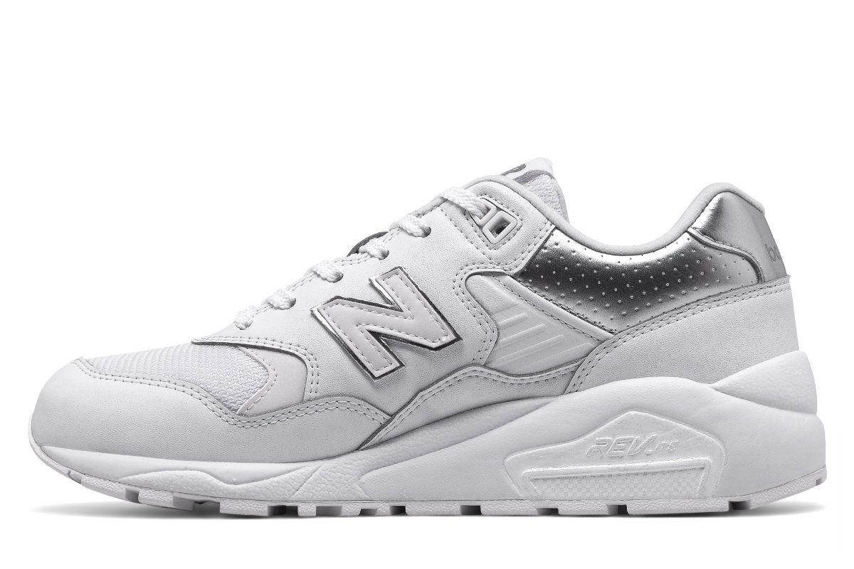 New Balance 580 Whiteout pack
